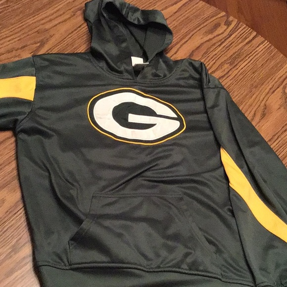 best authentic f550d 773a3 NFLTeam Green Bay Packers youth hoodie, XL